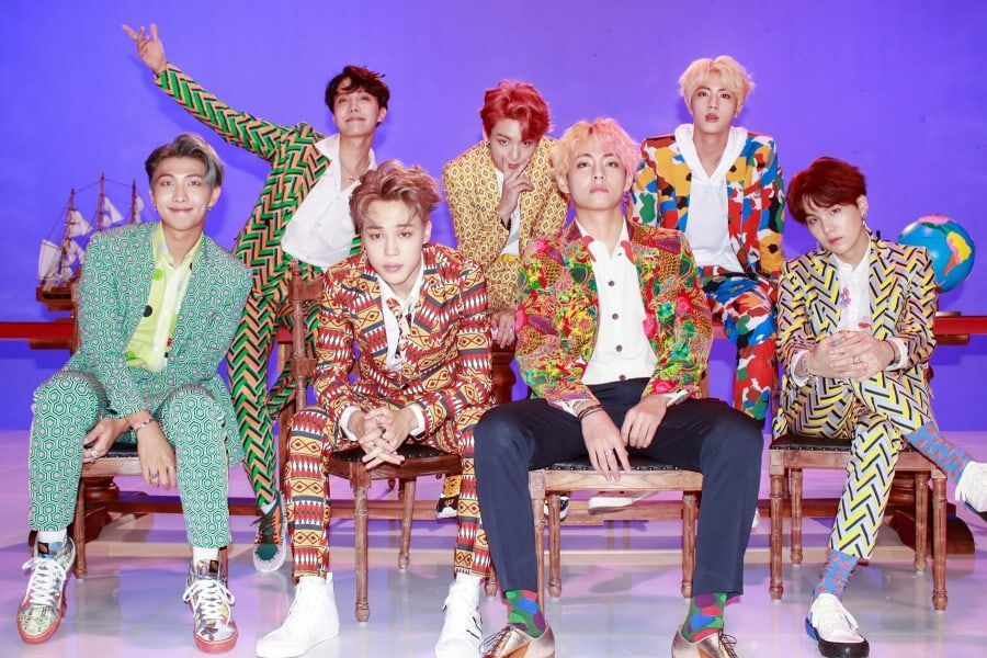 "BTS's ""IDOL"" Becomes Their 6th MV To Surpass 550 Million Views"