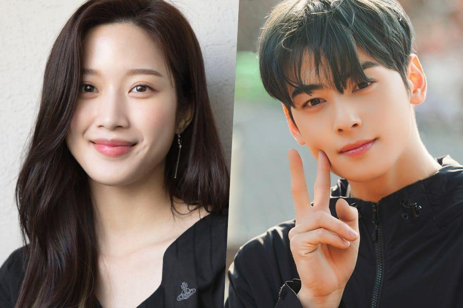 "Cha Eun Woo from ASTRO talks to Moon Ga Young about his ""chemistry"""