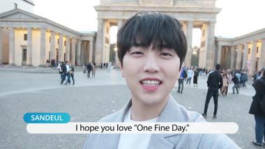 Pops in Seoul Episode 3984: One Fine Day(날씨 좋은 날) ! Sandeul(산들)'s MV Shooting Sketch