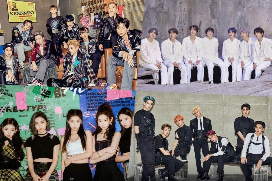 NCT 127, BTS, ITZY, SuperM, And More Rank High On Billboard's World Albums Chart