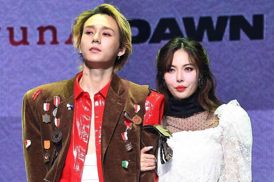 HyunA And DAWN (Hyojong) Talk About Having Solo Releases On Same Day, Advice From PSY, And More
