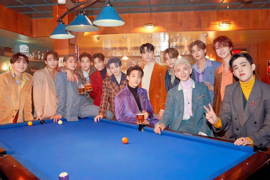 """SEVENTEEN Wins With """"HOME;RUN"""" On """"Show Champion"""""""