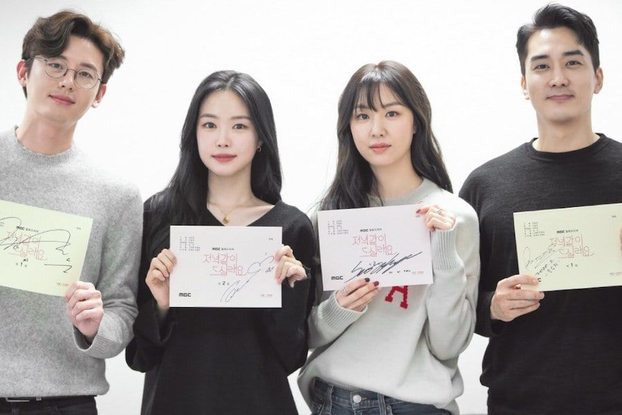 Song Seung Heon, Seo Ji Hye, Lee Ji Hoon, And Son Naeun Impress At Script Reading For New Drama