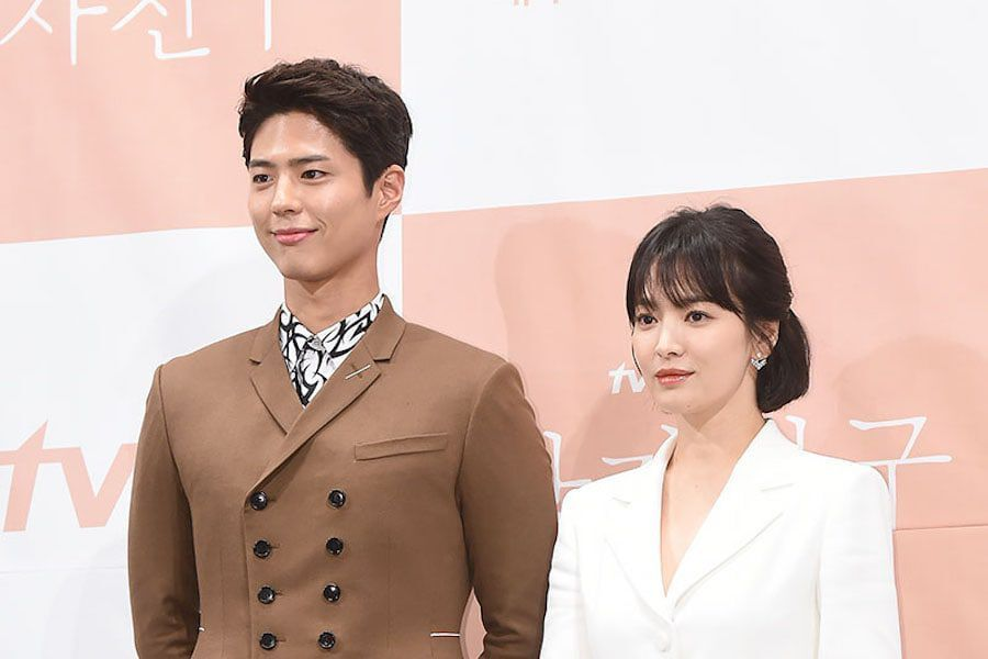 Park Bo Gum And Song Hye Kyo Talk About Song Joong Ki + What It's Like Working Together