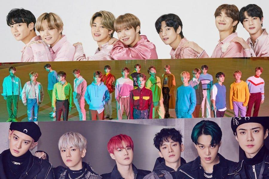 June Boy Group Brand Reputation Rankings Announced