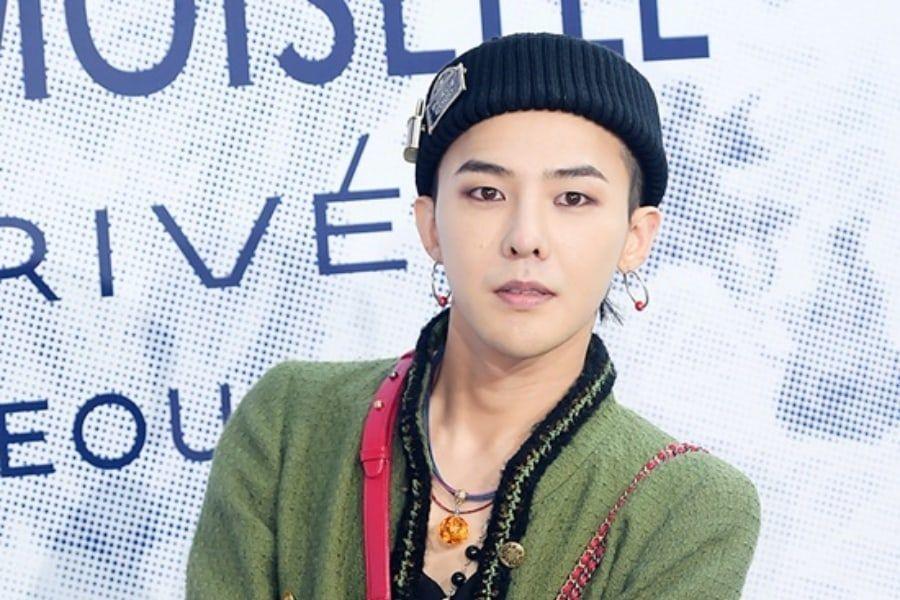 G-Dragon comparte primera actualización en Instagram a casi un año desde el inicio de su servicio militar