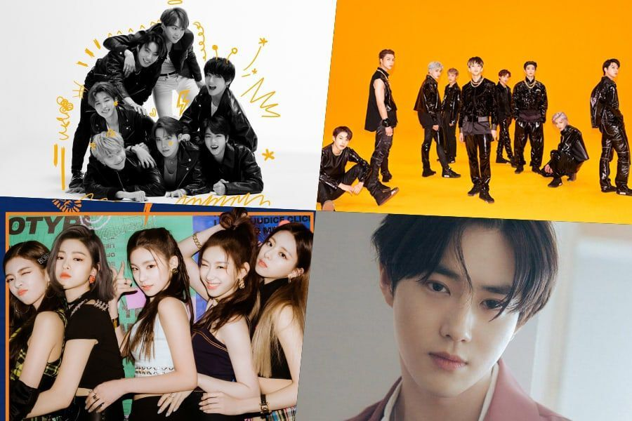 BTS, NCT 127, ITZY, EXO's Suho, And More Rank High On Billboard's World Albums Chart