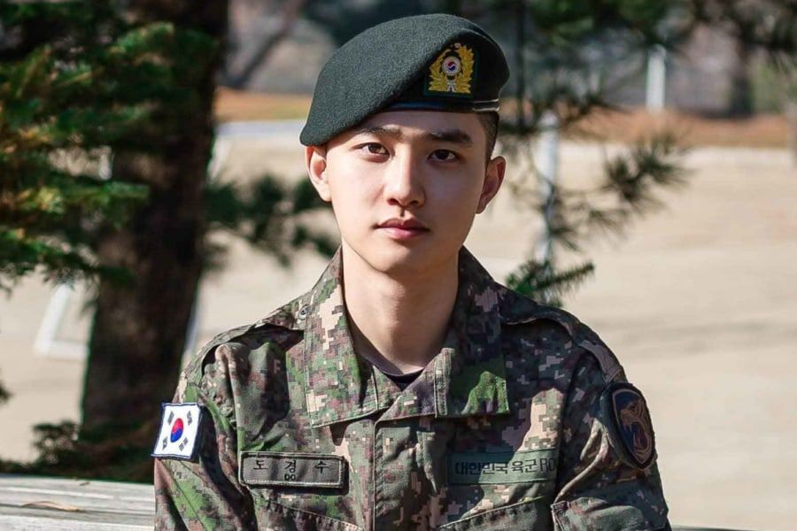 EXO's D.O. Shares Sweet Message After Discharge From Military Service