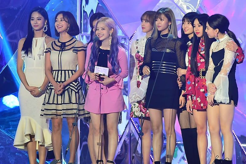 twice wins daesang for best