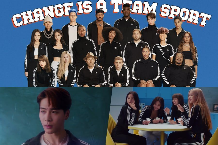 Watch Blackpink And Got7 S Jackson Appear In New Adidas Ad Directed By Jonah Hill Starring Pharrell Ninja And More Soompi