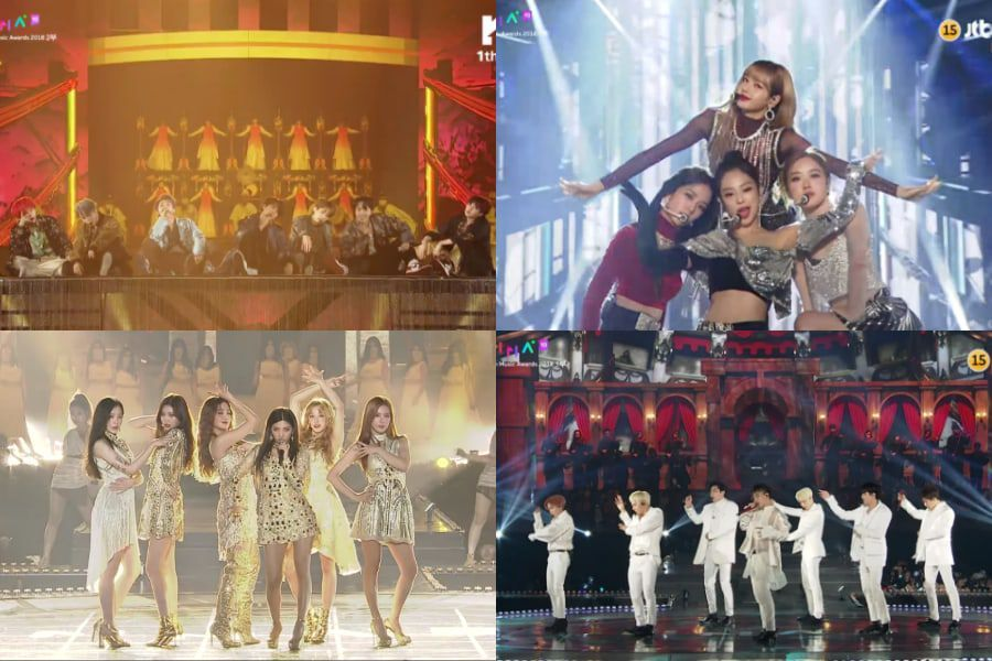 Performances From The 2018 Melon Music Awards