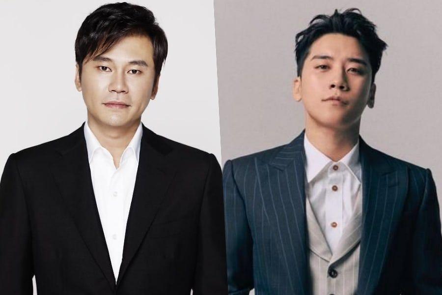 Yang Hyun Suk dan Seungri BIGBANG