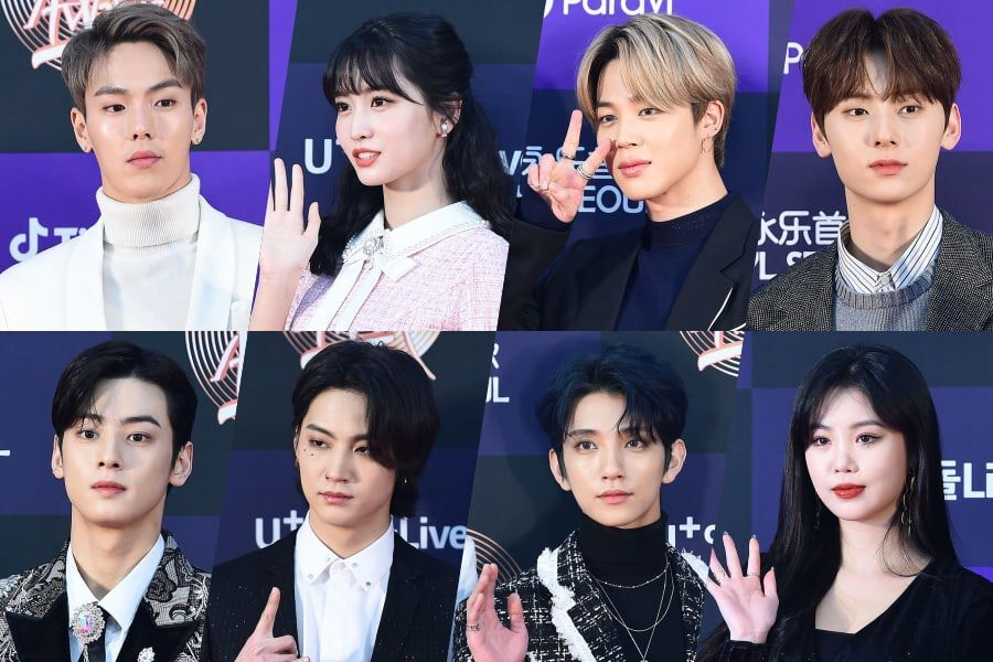 Stars Walk The Red Carpet At Day 2 Of 34th Golden Disc Awards
