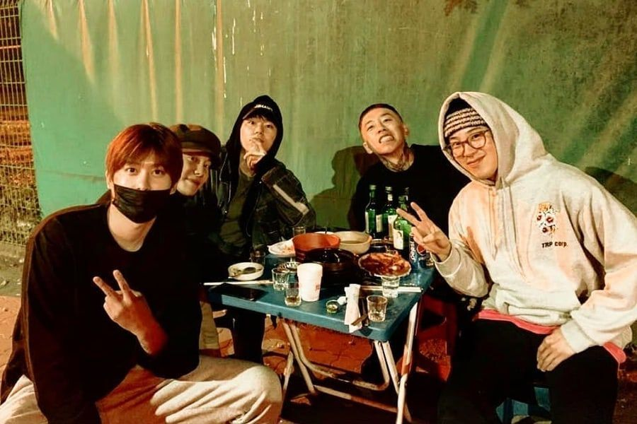 Zico Shares Photo From Sweet Reunion Between Block B Members