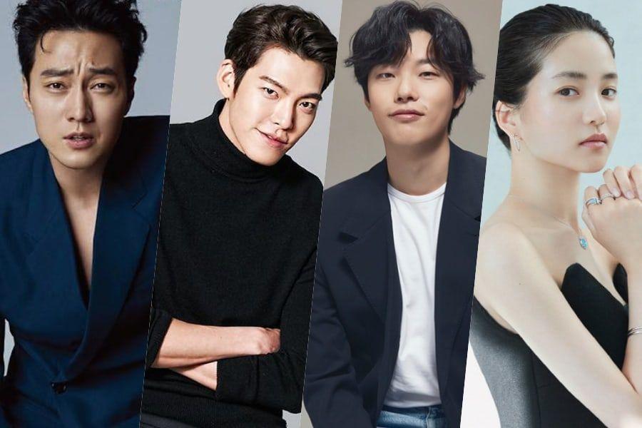 So Ji Sub se une a Kim Woo Bin, Ryu Jun Yeol, Kim Tae Ri y más, en próxima película