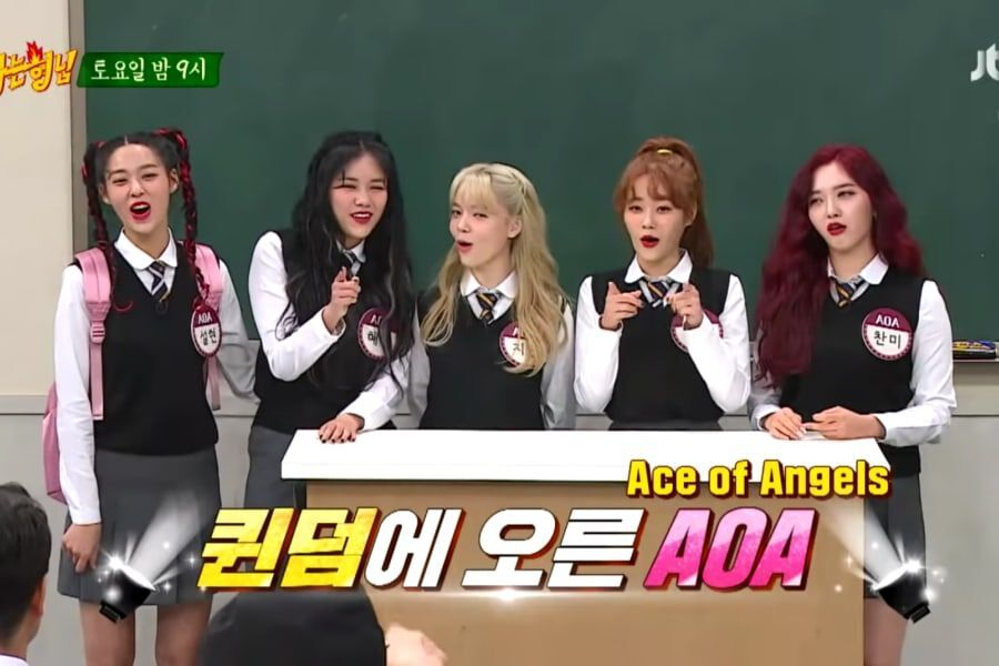 "Watch: AOA Gets Savage In Preview For ""Ask Us Anything"""