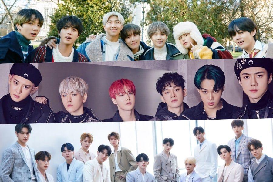 January Boy Group Brand Reputation Rankings Announced