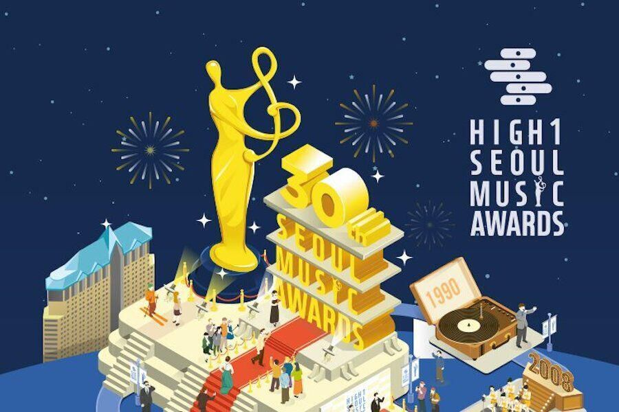 Se revelan los nominados para los 30th Seoul Music Awards