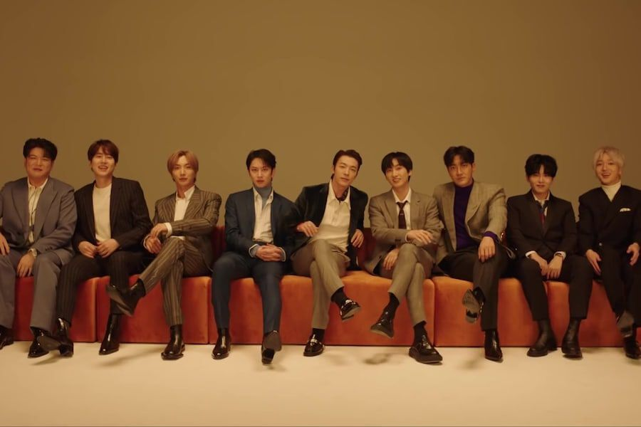 "Update: Super Junior Is All Smiles In MV Teaser For Pre-Release Track ""The  Melody"" 