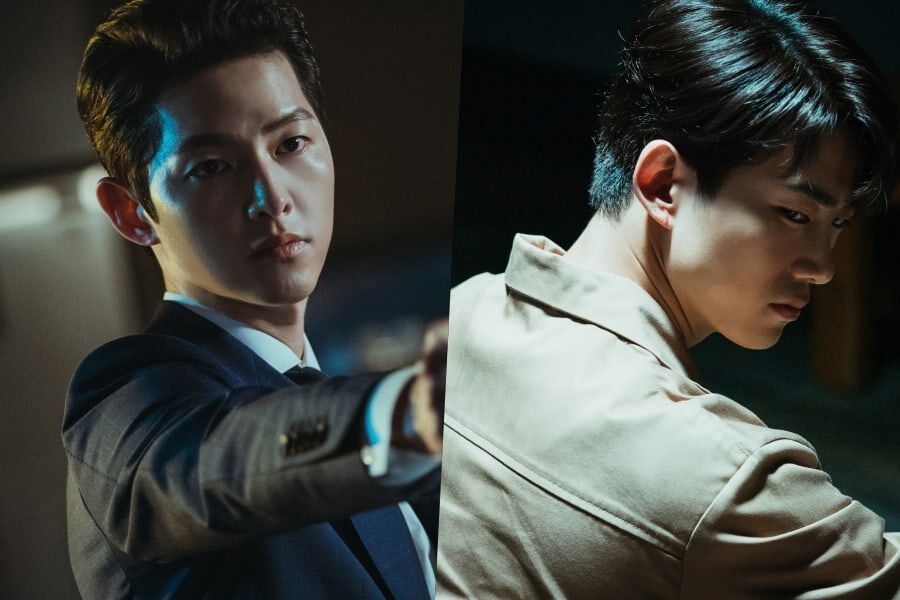 "Song Joong Ki Punishes 2PM's Taecyeon Without Mercy In ""Vincenzo"""