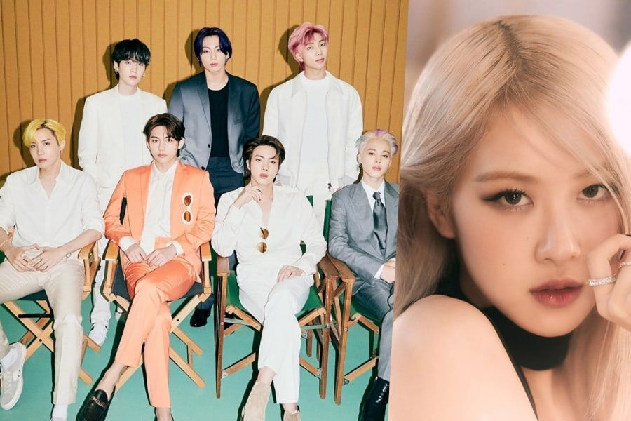 BTS And BLACKPINK's Rosé Chosen For Billboard's Staff-Curated Best Songs Of 2021 List