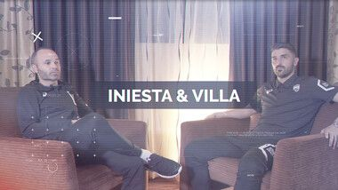 Iniesta TV: Interviews Episode 11: Iniesta & Villa #1