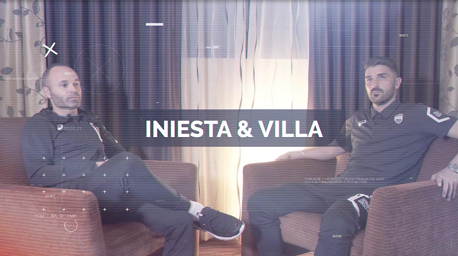 Iniesta TV: Interviews Episode 11: Iniesta & Villa #1