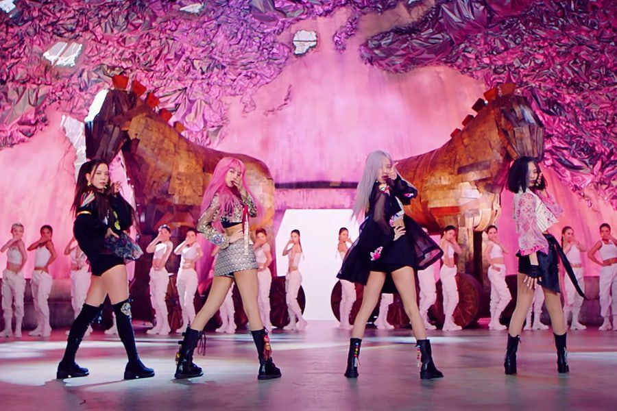 "BLACKPINK's ""How You Like That"" Becomes Fastest K-Pop Girl Group MV To Hit 750 Million Views"