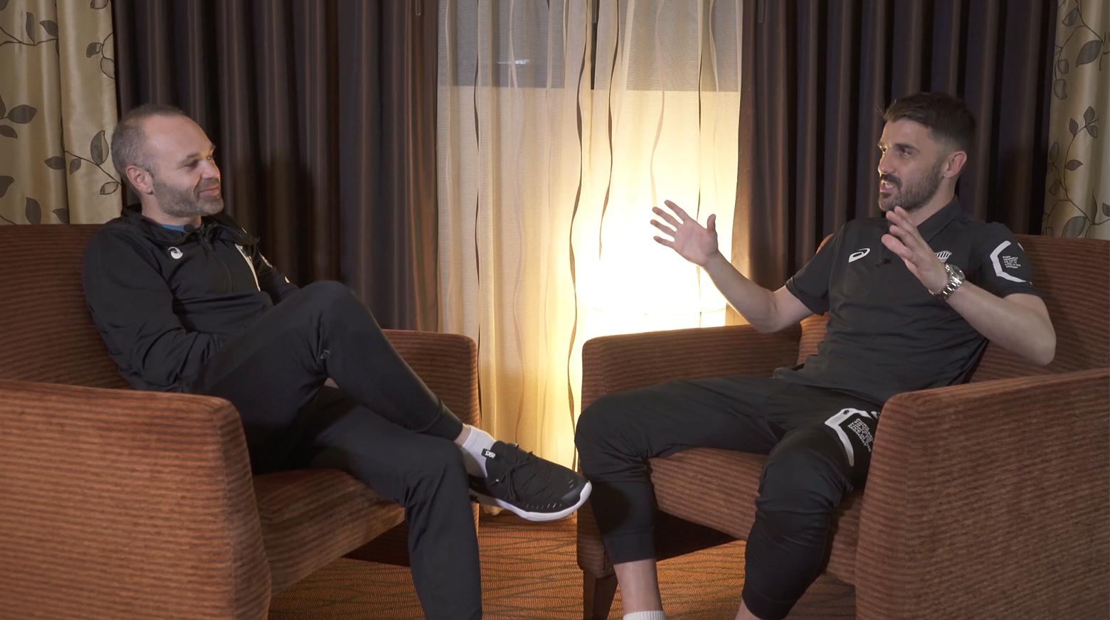 Iniesta TV: Interviews Episode 14: Iniesta & Villa #3