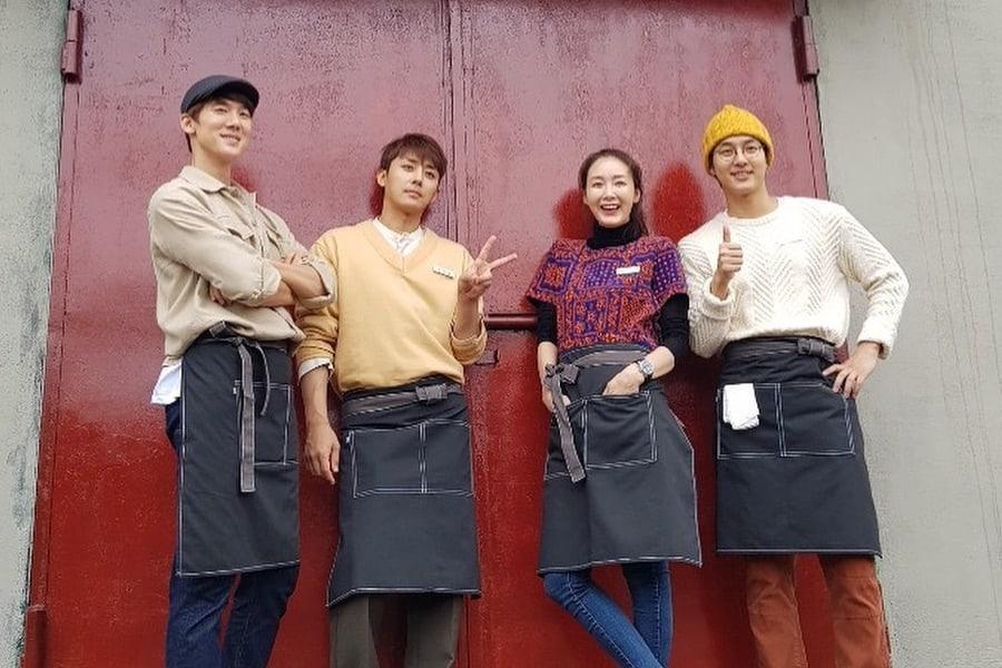 """4859f8be0 tvN تشارك إعلان تشويقي للبرنامج الجديد """"Coffee Friends""""   Kdrama Stars 1"""