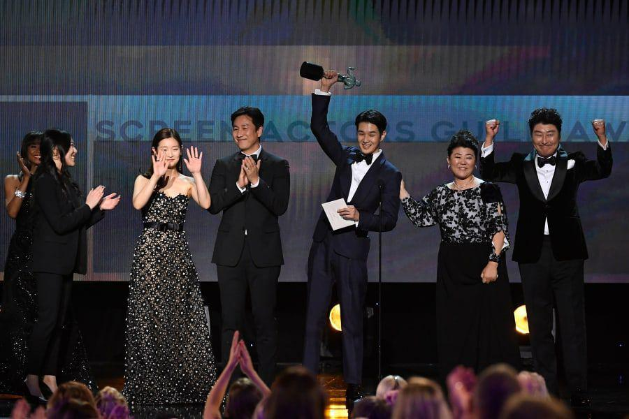 """Parasite"" Becomes 1st Foreign Language Film To Win Best Ensemble At SAG Awards"
