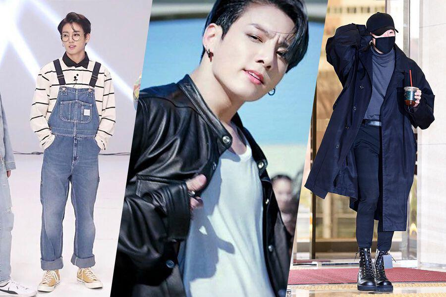 10 Outfits BTS's Jungkook Has Rocked On And Off Stage