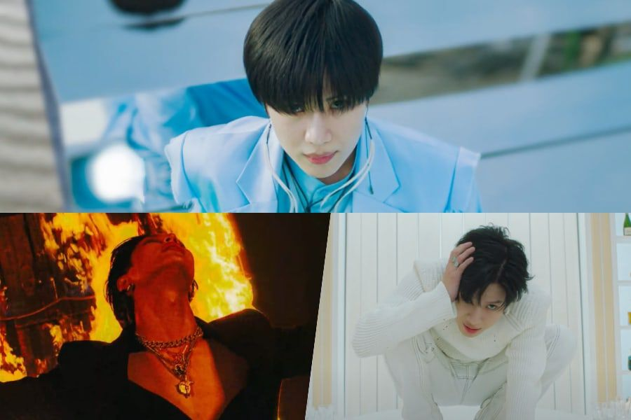 "Watch: SHINee's Taemin Captivates With Intense ""IDEA"" Comeback MV"