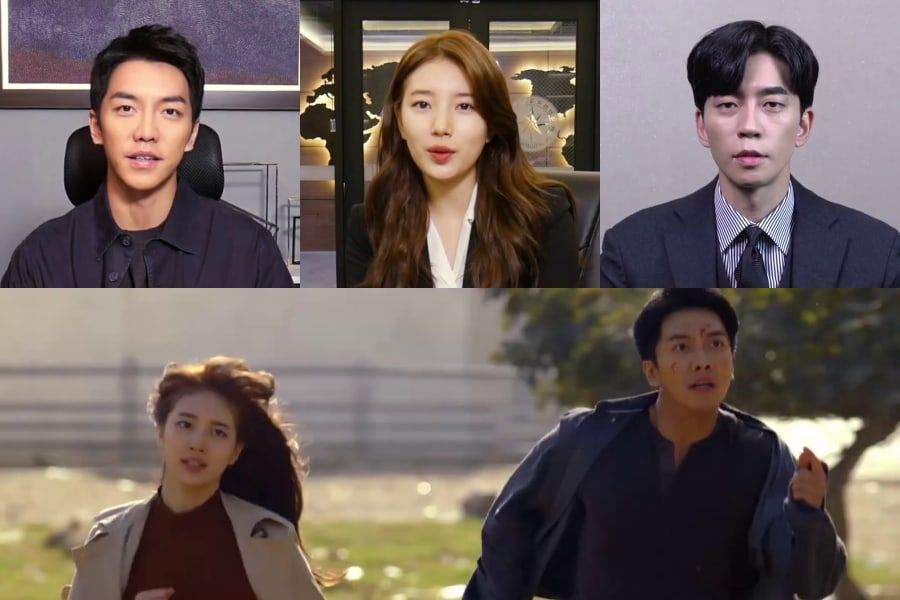 "Watch: Lee Seung Gi, Suzy, And Shin Sung Rok Introduce Their Upcoming Drama ""Vagabond"""