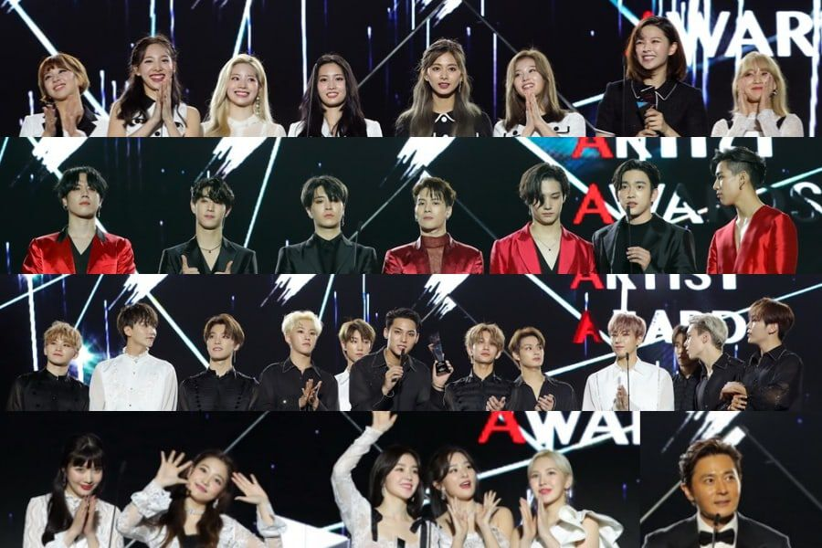 2019 Asia Artist Awards Daesang Winners Express Gratitude In Heartfelt Speeches Soompi