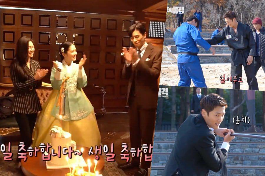 """Watch: """"The Last Empress"""" Cast Has Fun Hanging Out Between Takes"""