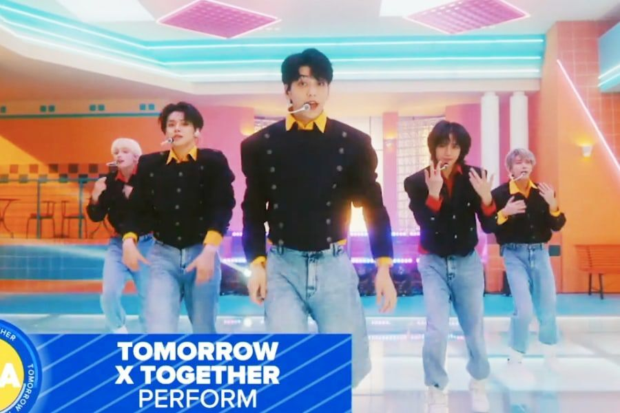 """Watch: TXT Lights Up """"Good Morning America"""" With Premiere Performance Of English Track """"Magic"""""""