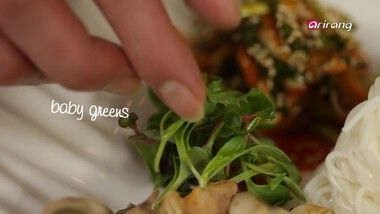 My Little Kitchen Season 1 Episode 3: Whelks with Spicy and Sweet Noodles, Grilled Pork and Braised Apple