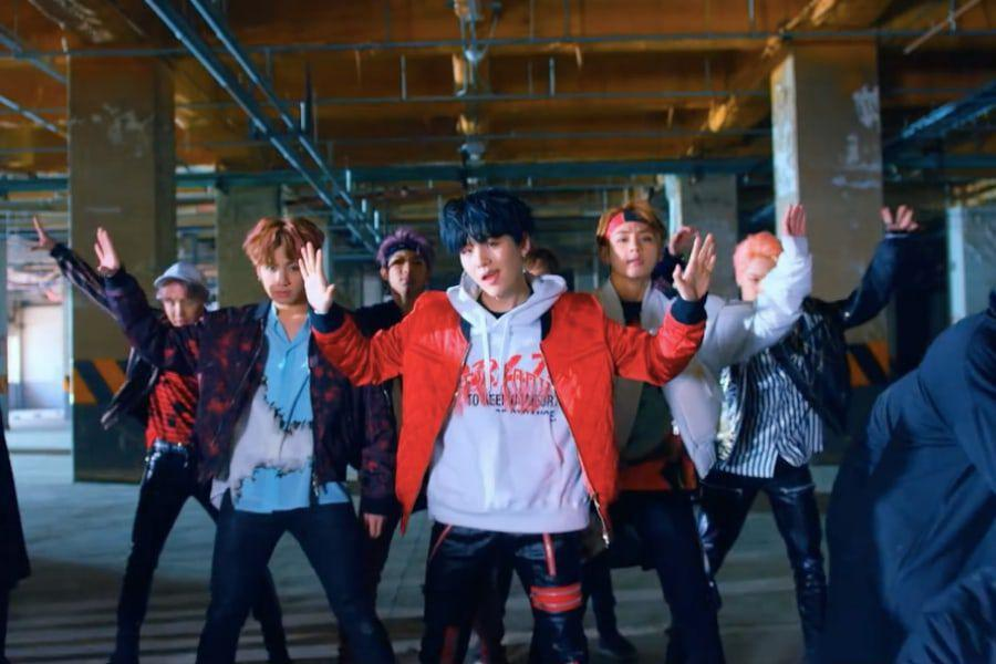 """BTS's """"Not Today"""" Becomes Their 9th MV To Hit 300 Million Views"""