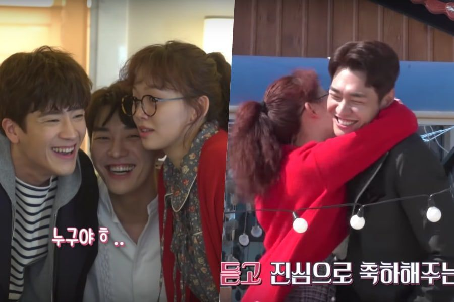 Watch: Kim Young Kwang And Jin Ki Joo Brighten Up The Mood On Set Of