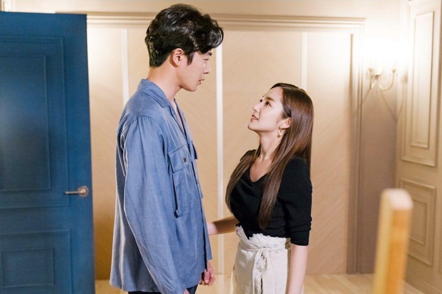 "Park Min Young Is An Encouraging Girlfriend To Kim Jae Wook In ""Her Private Life"""