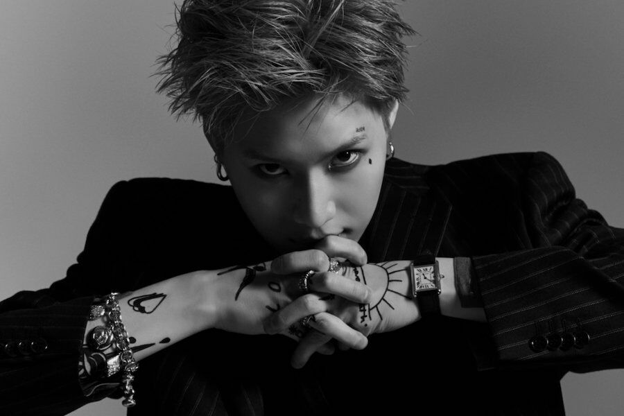 "Update: SHINee's Taemin Takes On A Fierce Look In New Teaser Photos For ""2 Kids"""