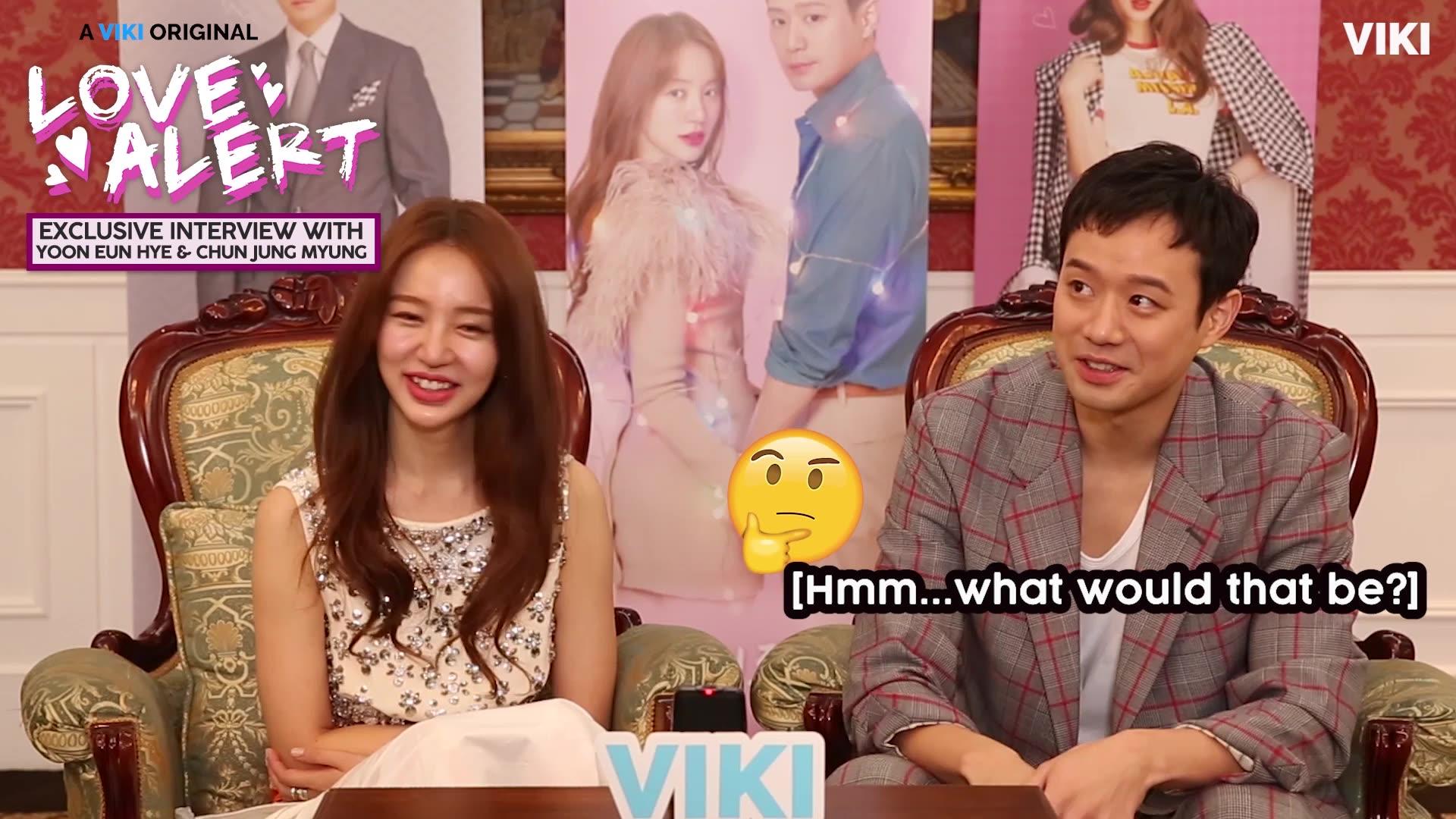 Yoon Eun Hye & Chun Jung Myung's Chemistry: Alerta de amor