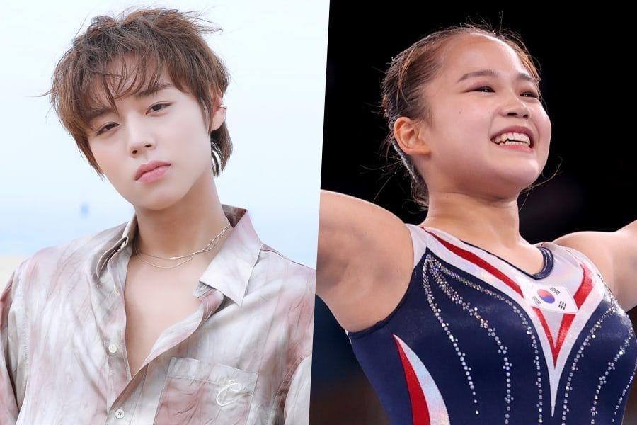 Park Ji Hoon Congratulates His Fan Yeo Seo Jeong On Her Historic Olympic Medal