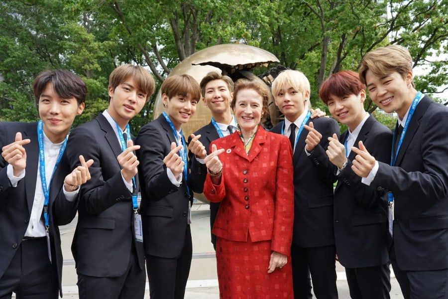 unicef explains why they invited bts to speak at the united