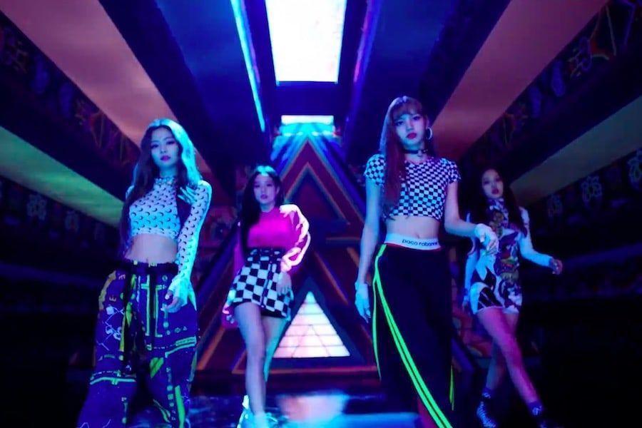 """""""DDU-DU DDU-DU"""" de BLACKPINK se convierte en el MV de un grupo K-Pop en alcanzar 550 millones de reproducciones más rápidamente"""
