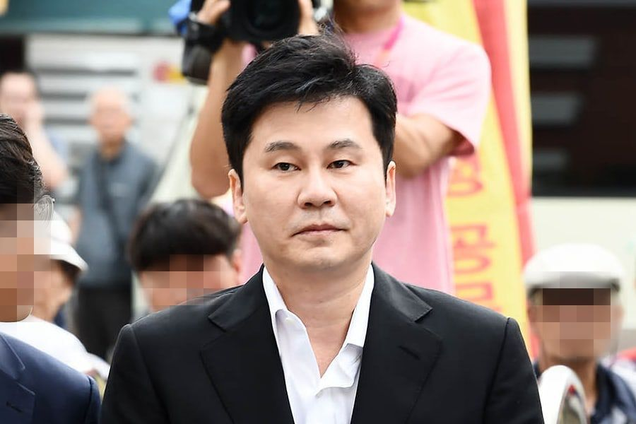 Yang Hyun Suk Questioned By Police On Charges Of Covering Up Past Drug Incident Involving B.I