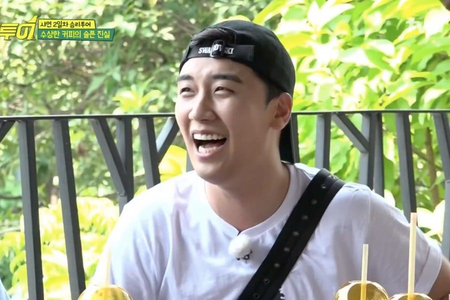 "Watch: BIGBANG's Seungri Hilariously Tries—And Fails—To Trick ""Salty Tour"" Cast To Save Money"