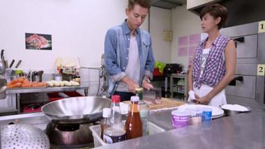 Han Jie's impressive cutting skills: Love Cuisine