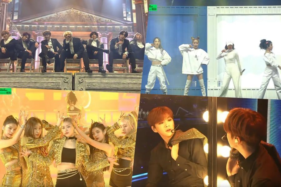 Watch: Performances From The Melon Music Awards 2019